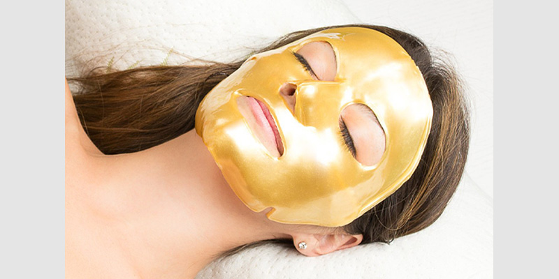 Golden Line Face Mask 30'